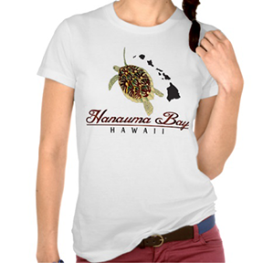 Hanauma Bay Turtle Shirt